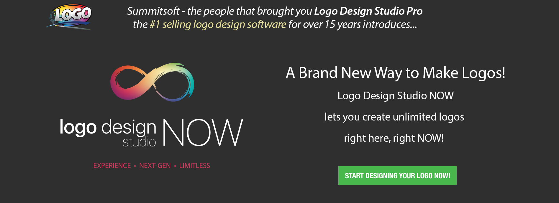 Logo Design Studio Now - The power to make any logo instantly!