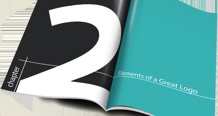 logo design e-book open