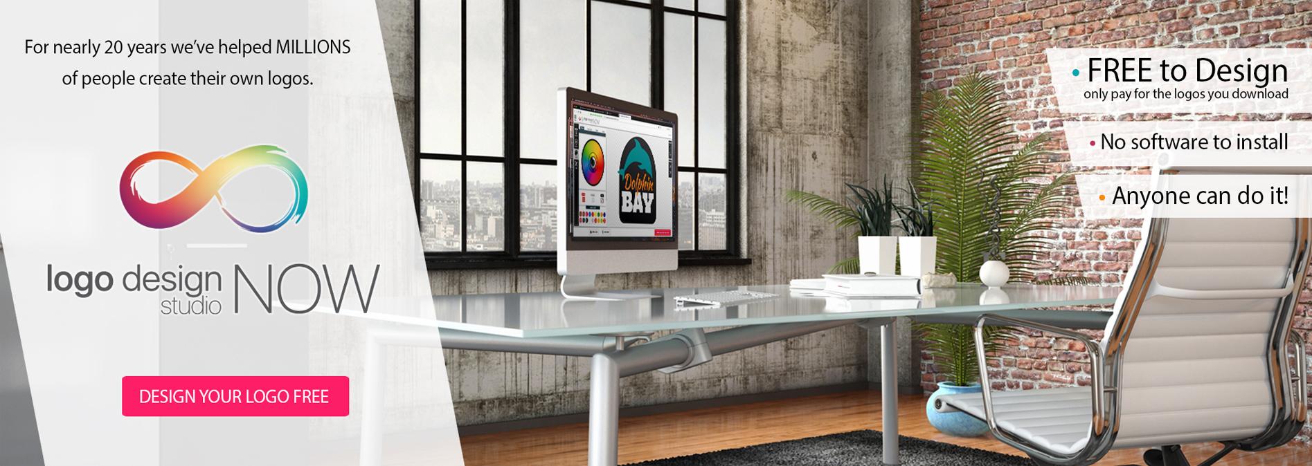 Logo Design Studio Now - Design for FREE