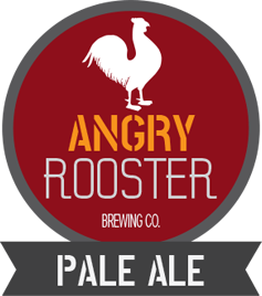 angry rooster pale ale product logo