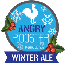 angry rooster winter ale product logo