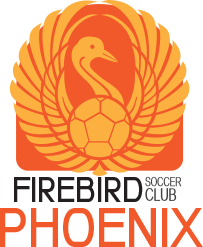 firebird soccer phoenix club team logo variation